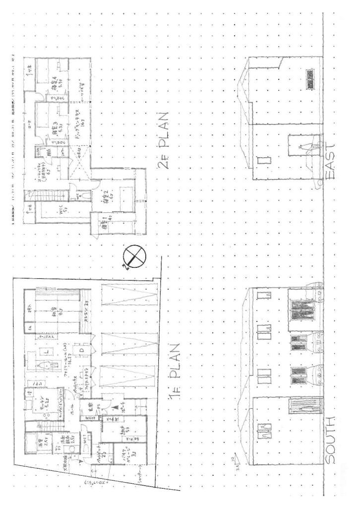 ウッドシングルの家Ⅳ*図面*NASH160