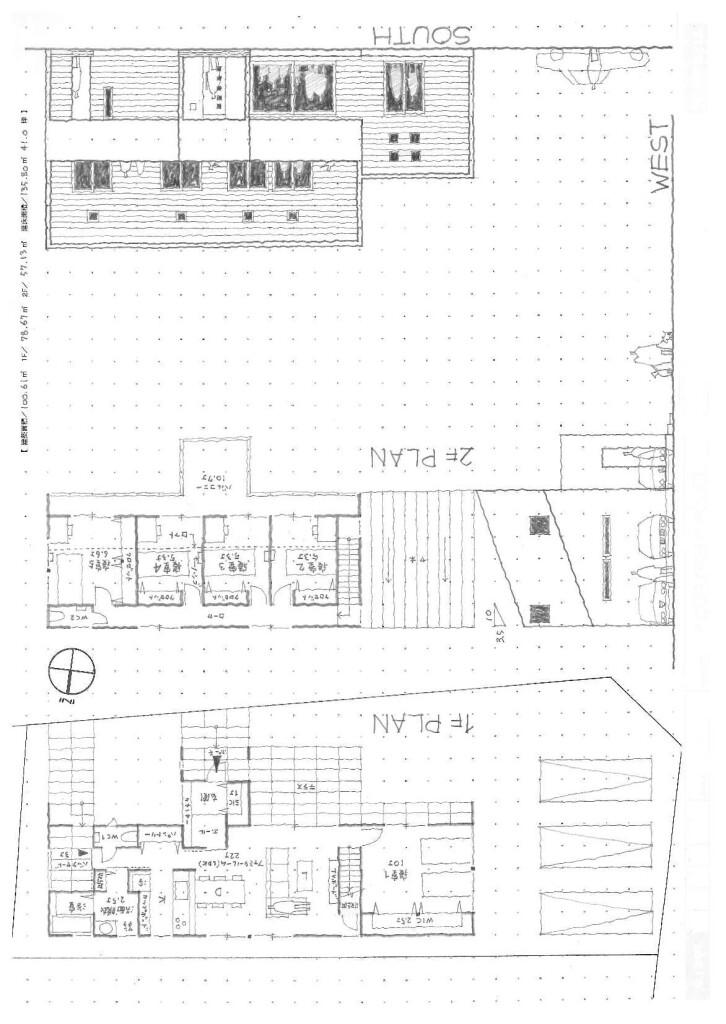 GAKUBUCHI HOUSE図面*NASH160